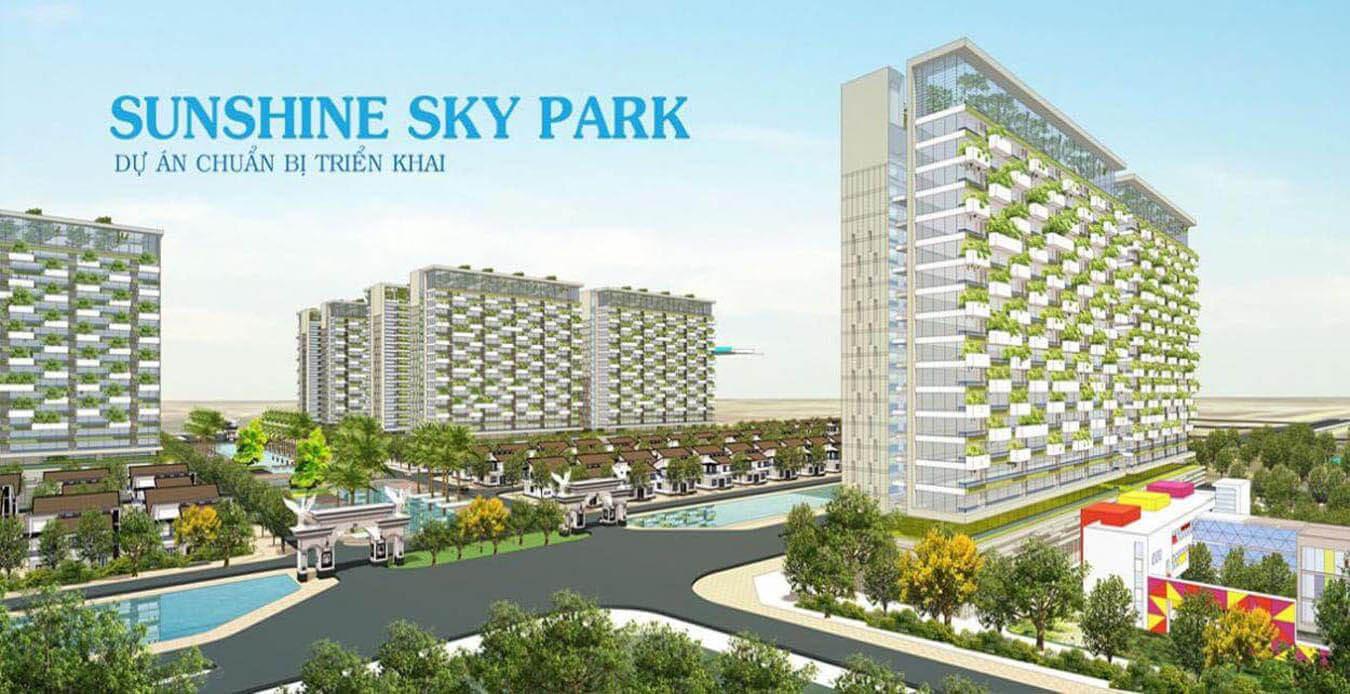 Mặt bằng chung cư Sunshine Sky Park