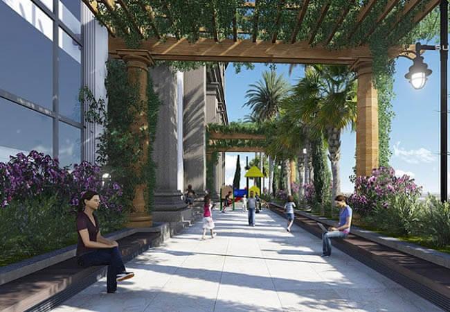 Khuôn viên dự án Sunshine Sky Park